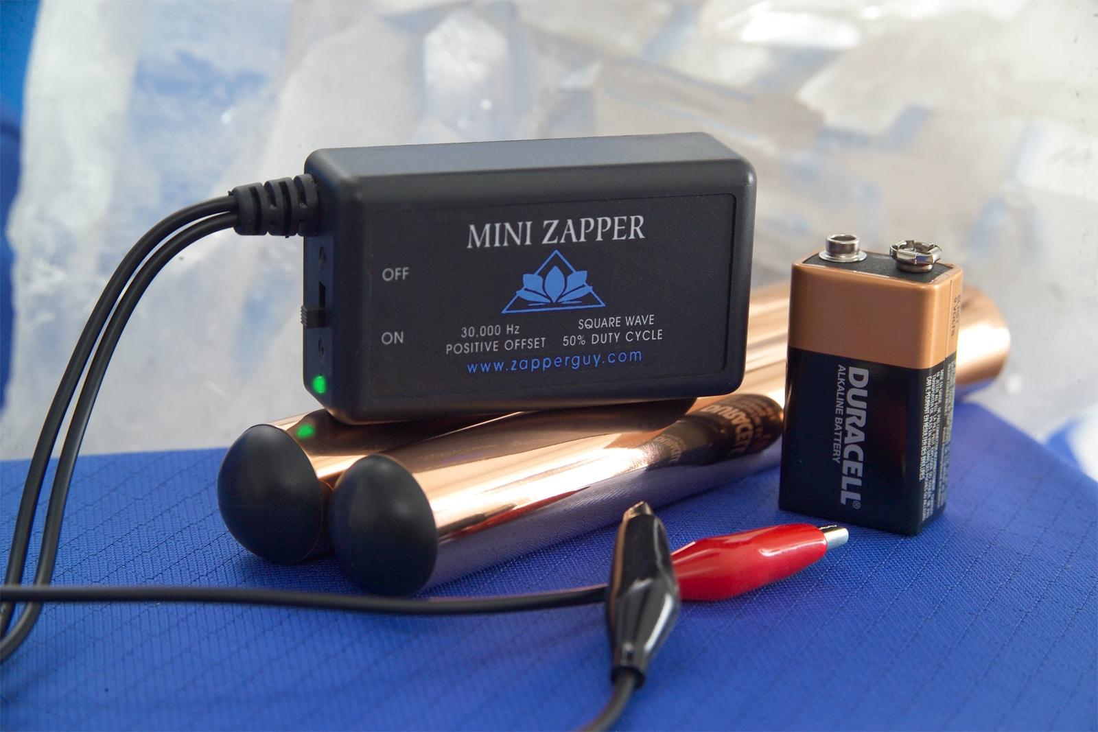 Mini Zapper with Copper Handles ...